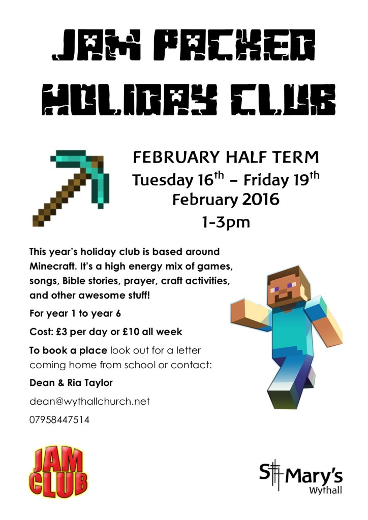 JAM PACKED holiday club @ St Mary's Church | Hollywood | United Kingdom