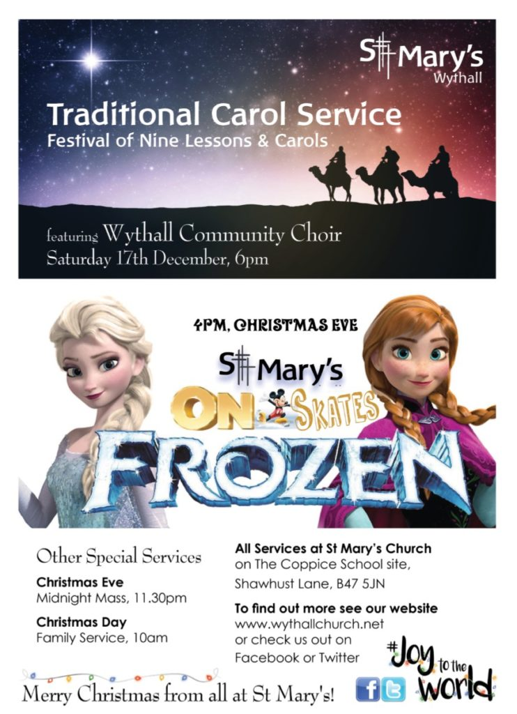 Traditional Carol Service @ Hollywood | United Kingdom