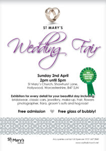 Wedding Fair @ St Mary's Church | Hollywood | United Kingdom