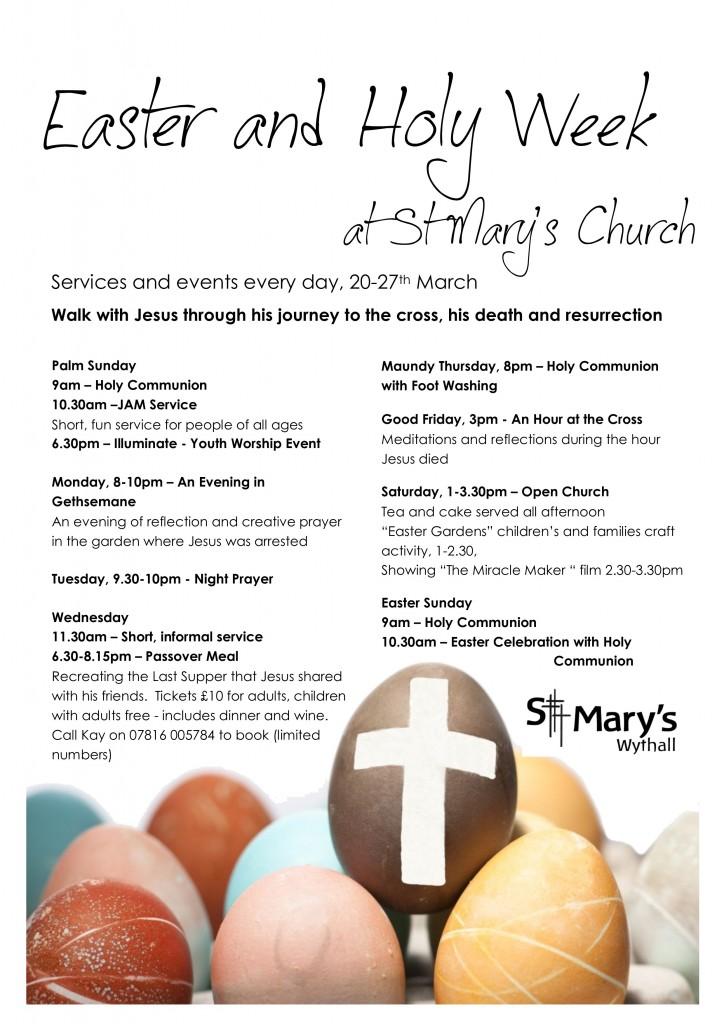 Holy Week A4
