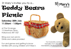 Teddy Bears Picnic @ The Vicarage,  | Hollywood | England | United Kingdom