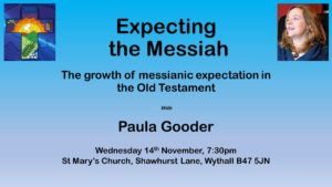 Wednesday evening with Paula Gooder