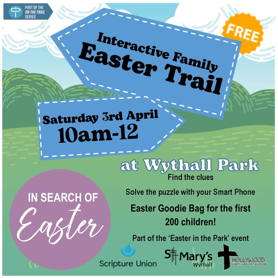 Easter Trail in Wythall Park